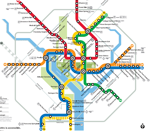 The DC Metro: A Map as a Network Graph